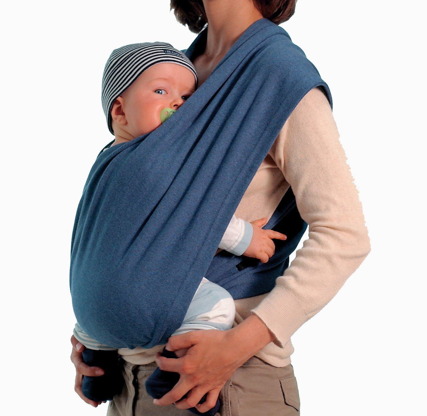 Echarpe de portage sans noeud carry baby amazonas